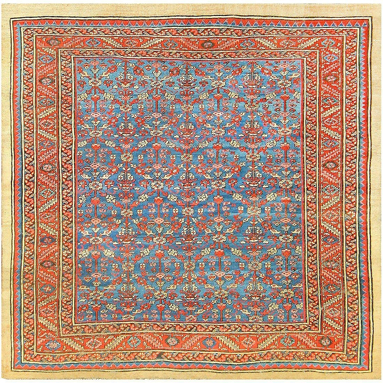 Antique Persian Bakshaish Carpet by Nazmiyal Antique Rugs