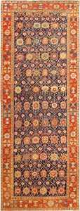 Antique Tribal Northwest Persian Gallery Size Rug 49161 Nazmiyal