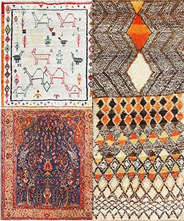 5 Happy antique rugs that will brighten your mood