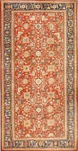 Oversized Antique Persian Sultanabad Rug 49142 By Nazmiyal