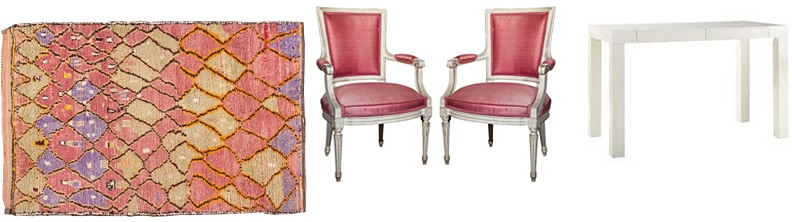 Mid century design perfectly complements the culture, style, and mood of a vintage rugs