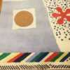 Vintage Scandinavian Rug by Artist Josef Frank 49125 Corner Nazmiyal