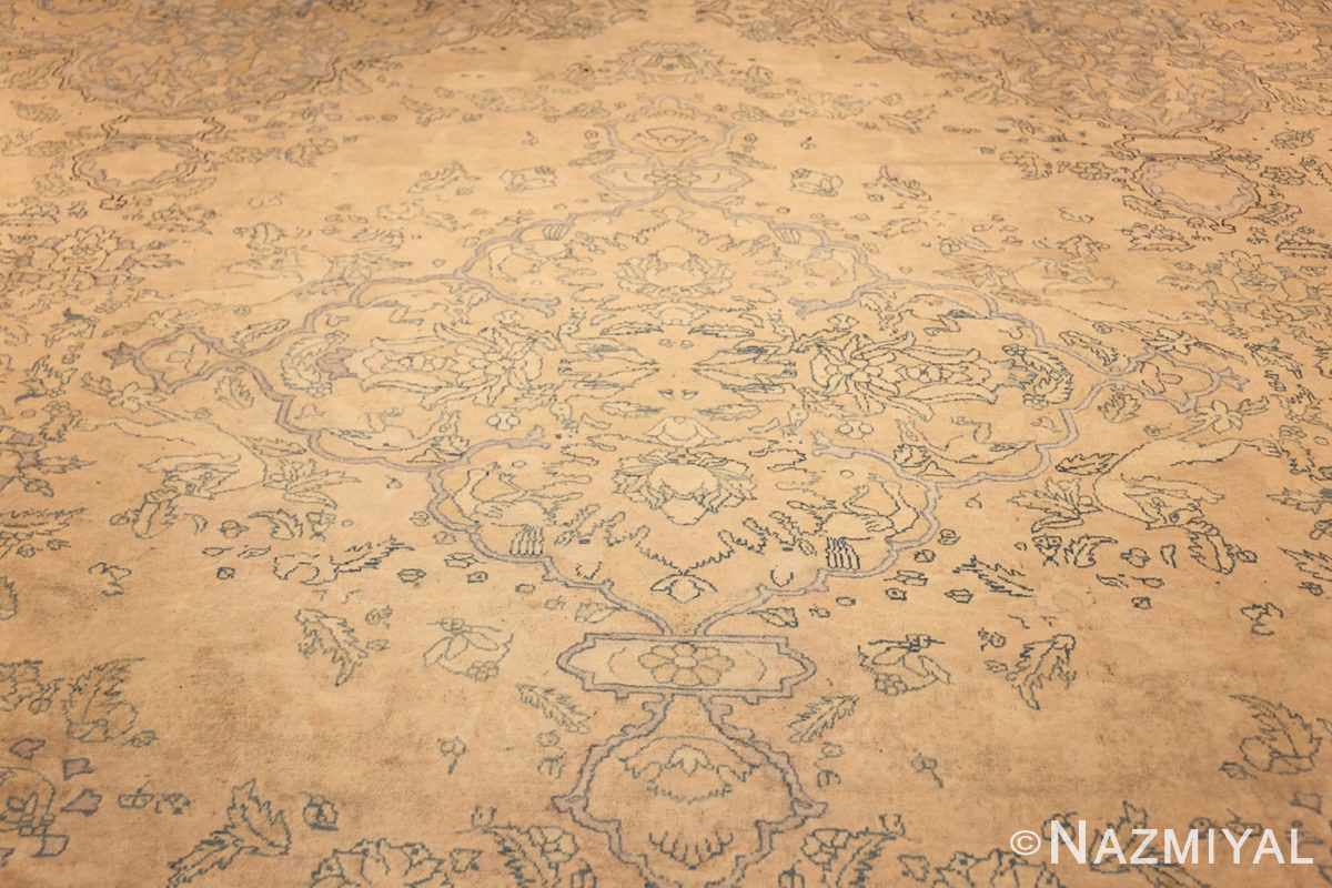 antique large indian agra rug 49167 field Nazmiyal