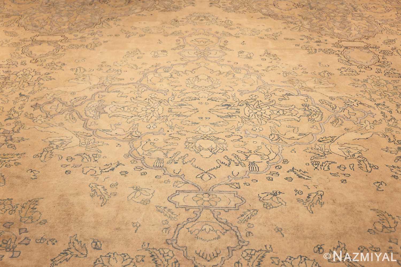antique large indian agra rug 49167 field Nazmiyal