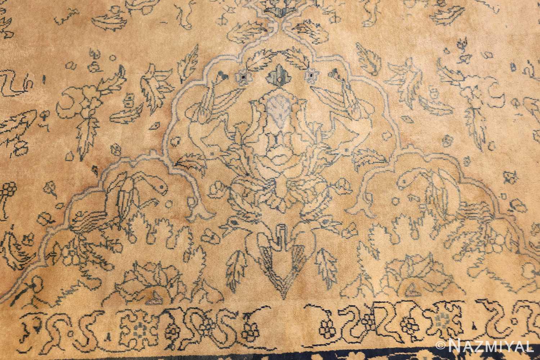 antique large indian agra rug 49167 side Nazmiyal