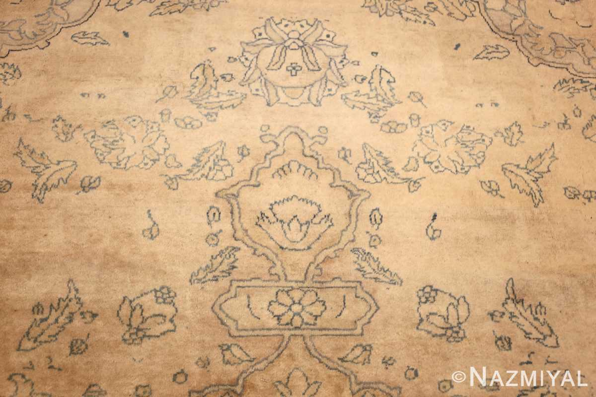 antique large indian agra rug 49167 tiara Nazmiyal