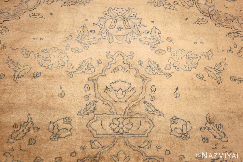 antique large indian agra rug 49167 tiara Nazmiyal