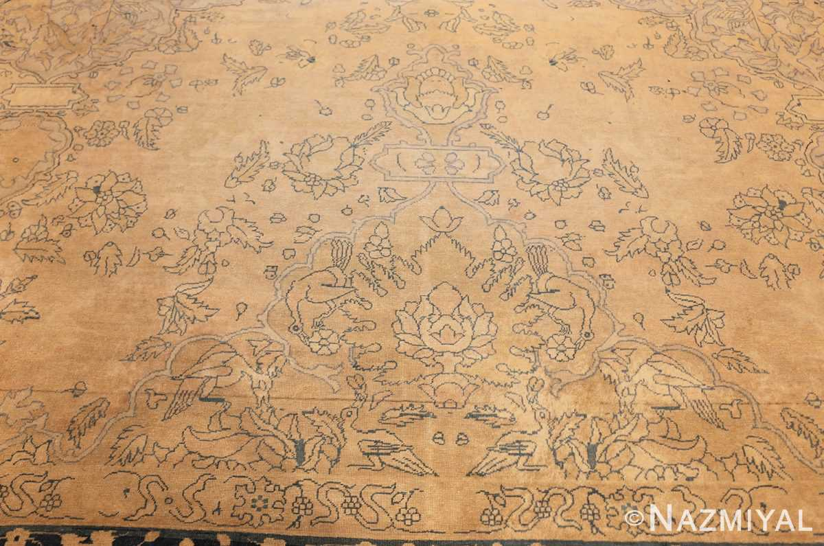 antique large indian agra rug 49167 top Nazmiyal