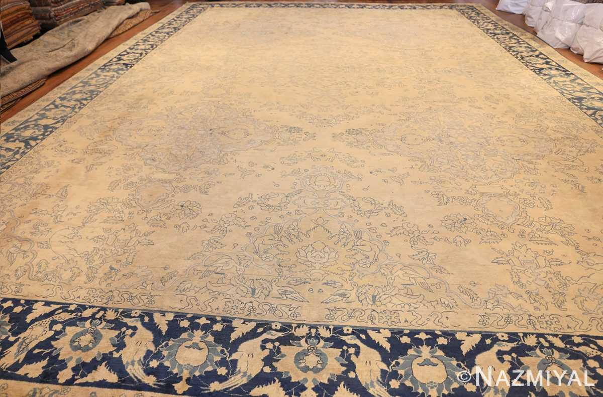 antique large indian agra rug 49167 whole Nazmiyal