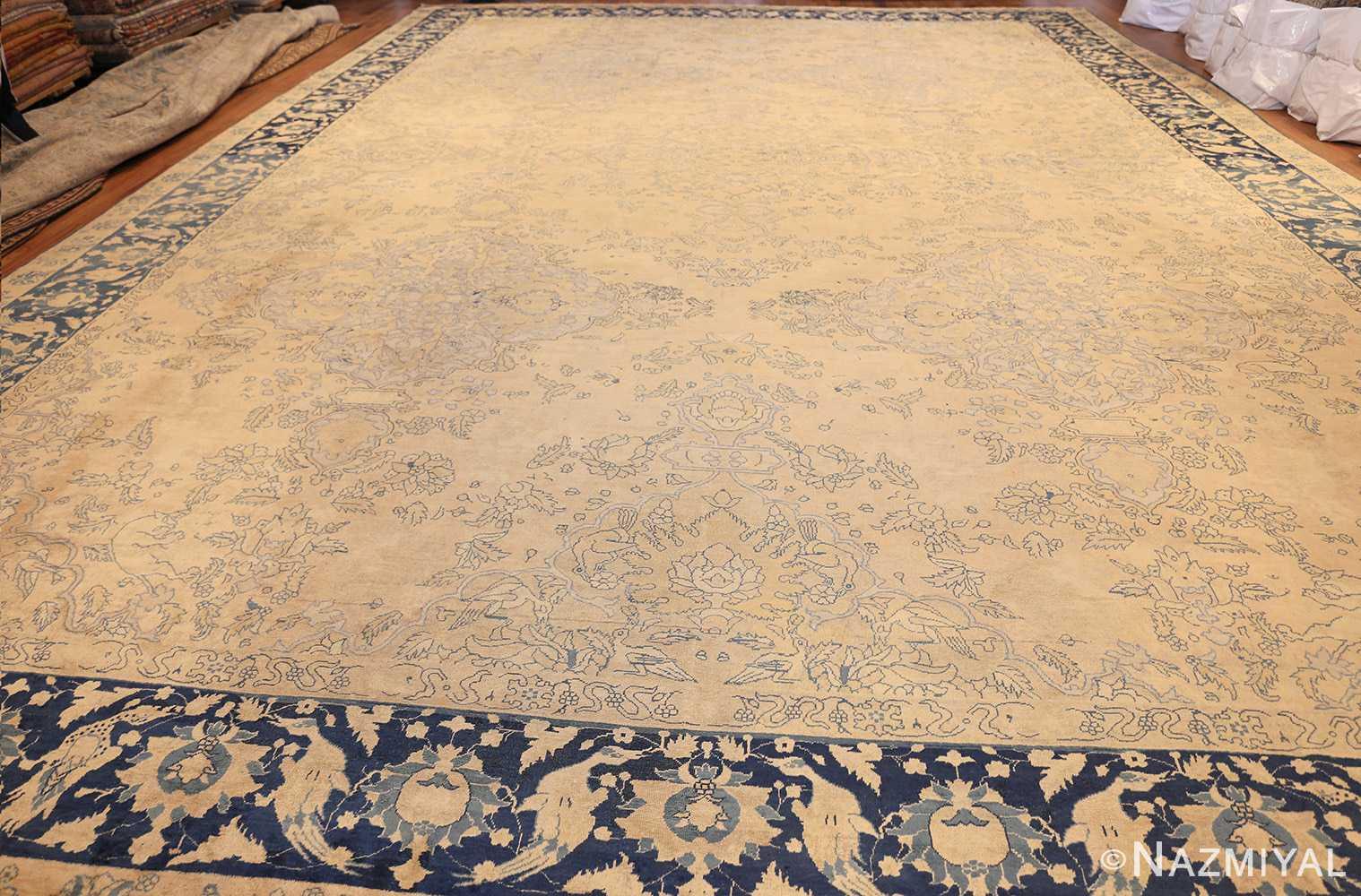 antique large indian agra rug 49167 whole Nazmiyal