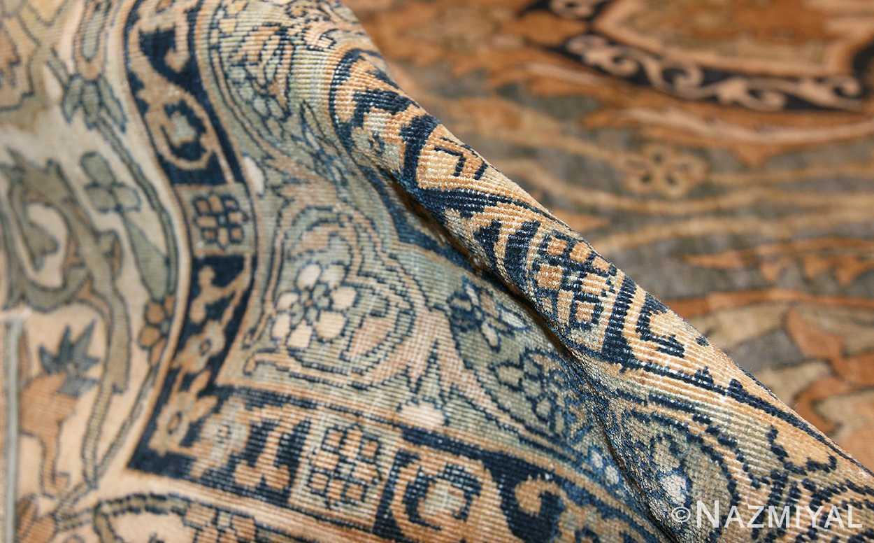 antique light blue persian kerman rug 48234 pile Nazmiyal