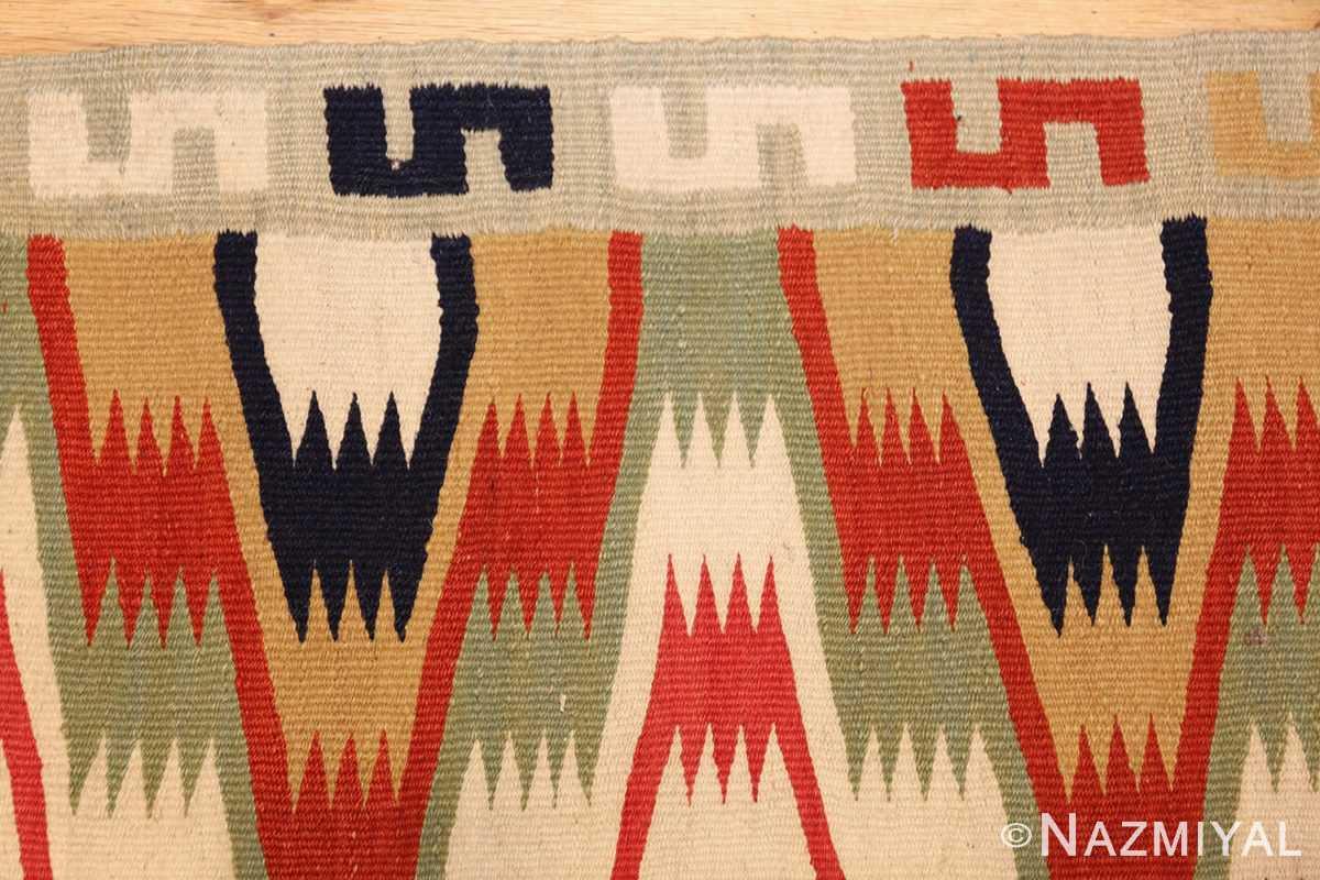 antique scandinavian swedish kilim runner 49124 border Nazmiyal