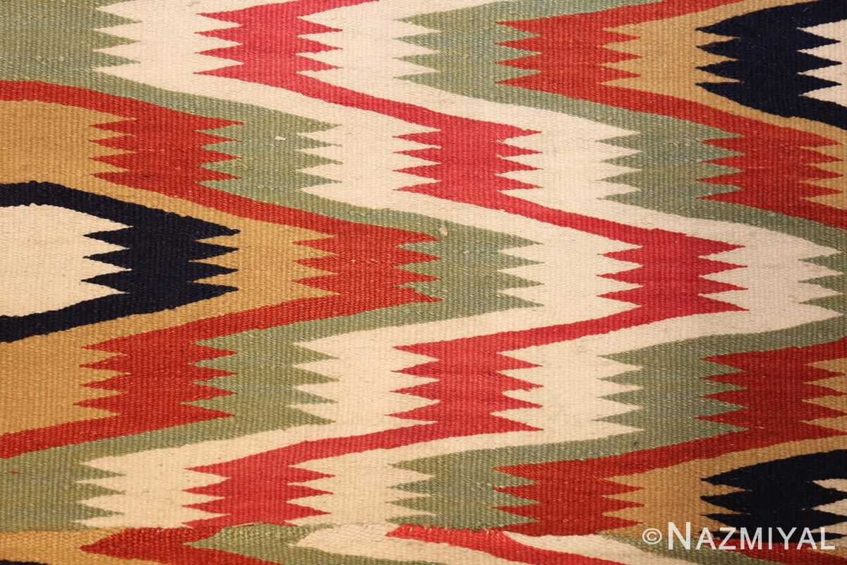 antique scandinavian swedish kilim runner 49124 colors Nazmiyal