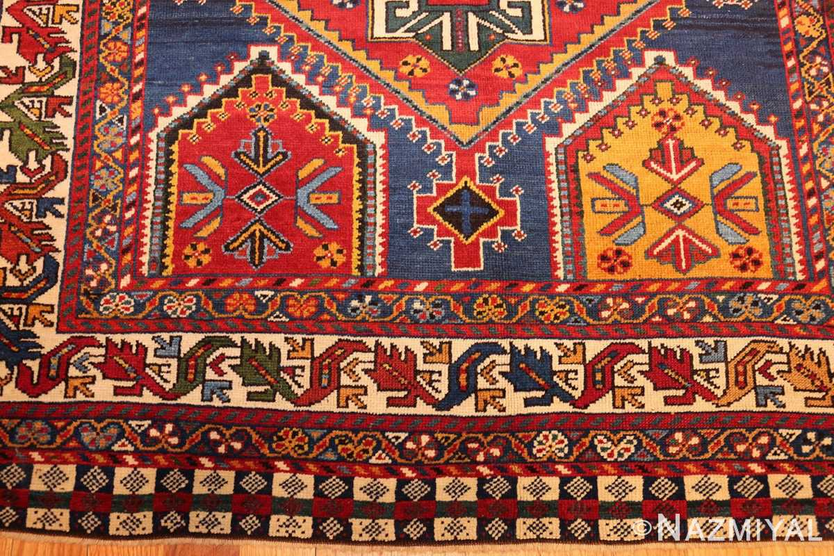 antique tribal persian qashqai rug 49152 top Nazmiyal
