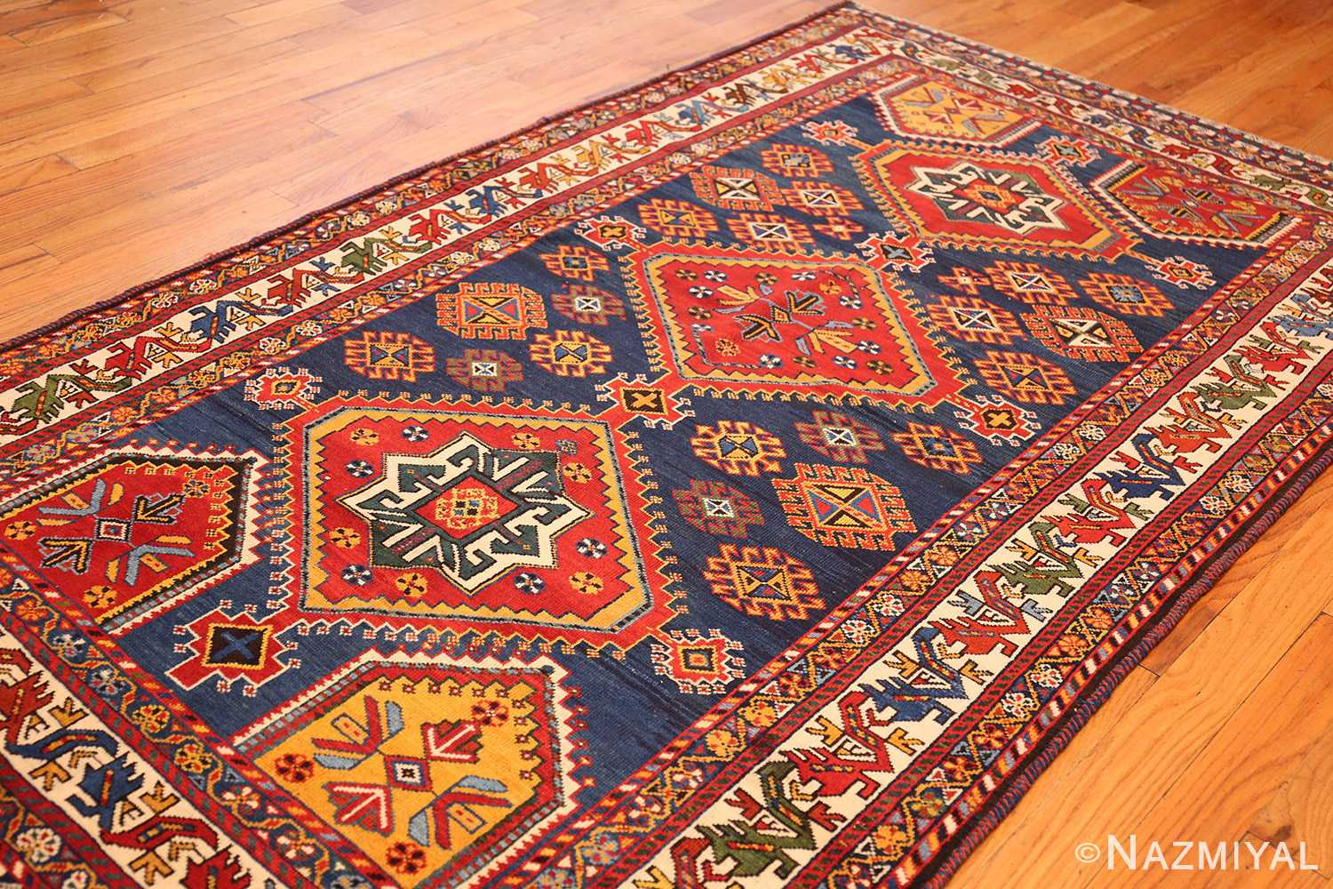 antique tribal persian qashqai rug 49152 whole Nazmiyal