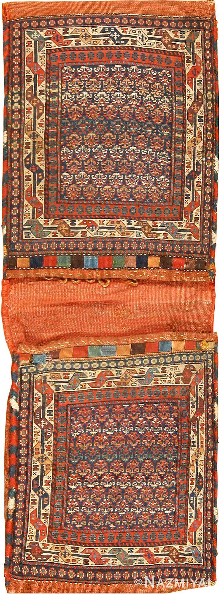 Collectible Antique Persian Shahsavan Bag 59153