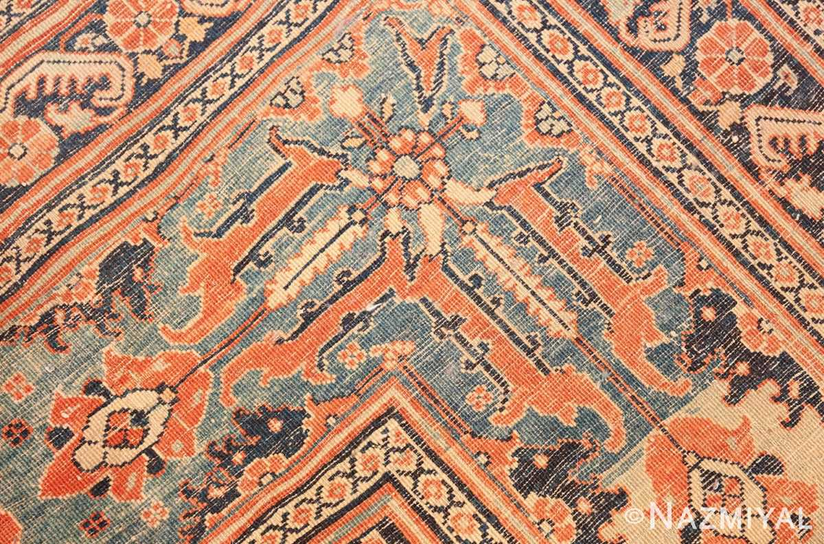 extremely fine antique persian haji jalili tabriz rug 49170 knots Nazmiyal