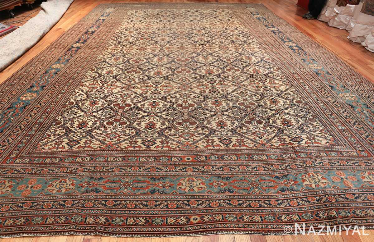 extremely fine antique persian haji jalili tabriz rug 49170 whole Nazmiyal