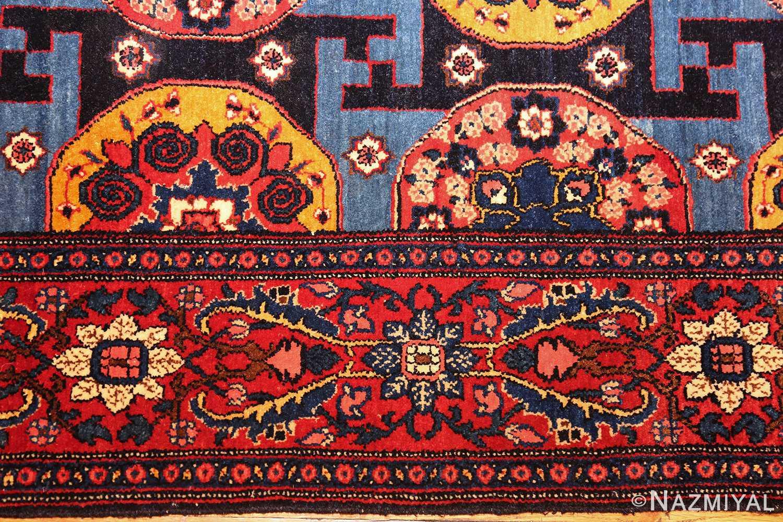 fine antique persian senneh rug 49106 border Nazmiyal