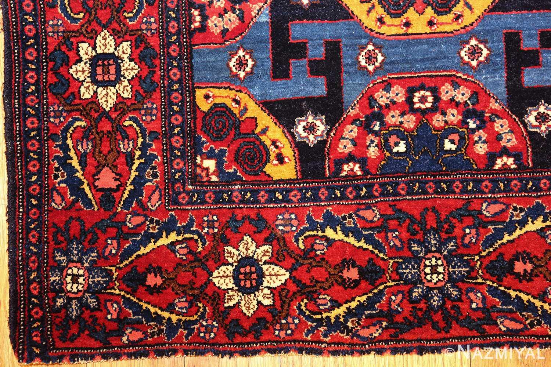 fine antique persian senneh rug 49106 corner Nazmiyal