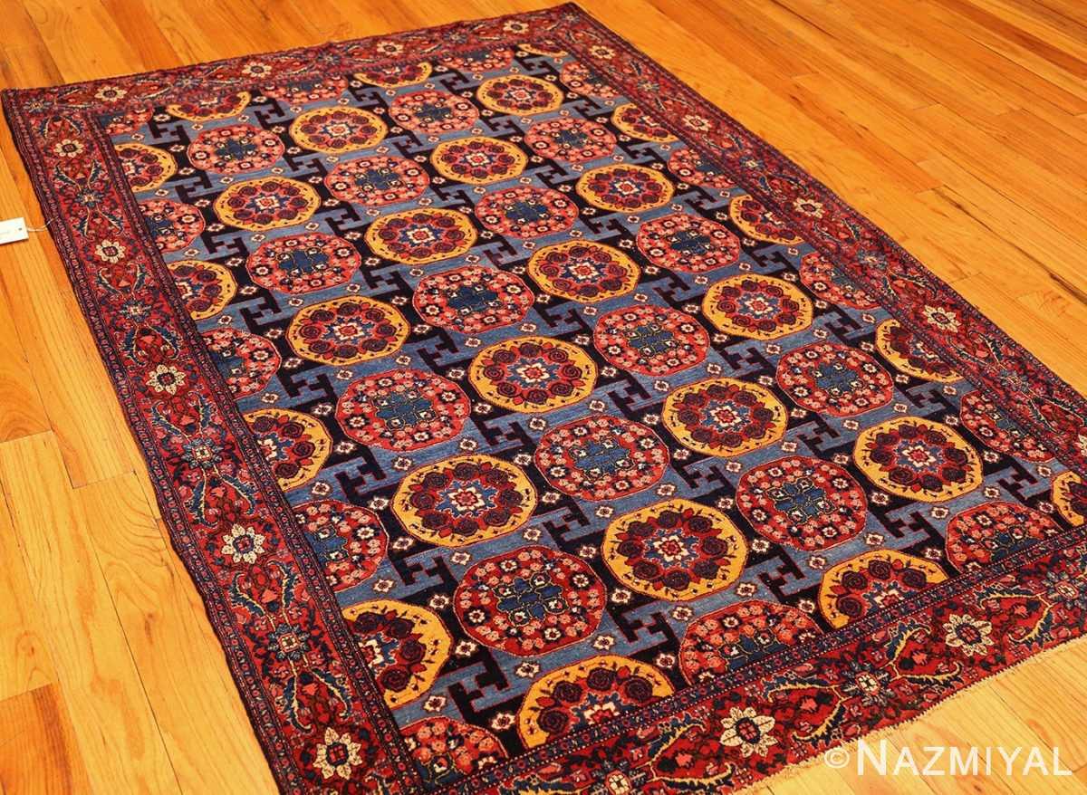 fine antique persian senneh rug 49106 whole Nazmiyal