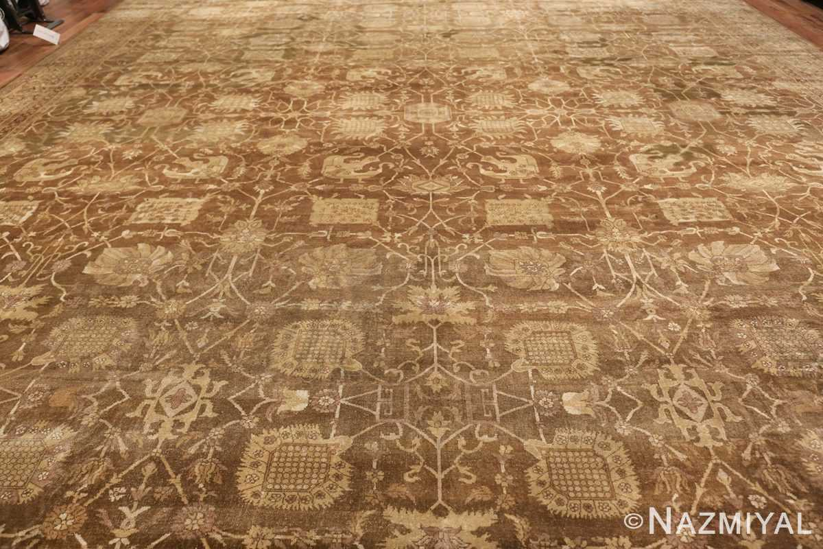 Large Antique Vase Design Indian Amritsar Rug 50341 Field Design Nazmiyal