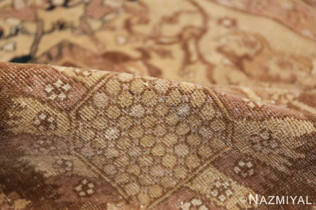 Large Antique Vase Design Indian Amritsar Rug 50341 Golden Pile Nazmiyal