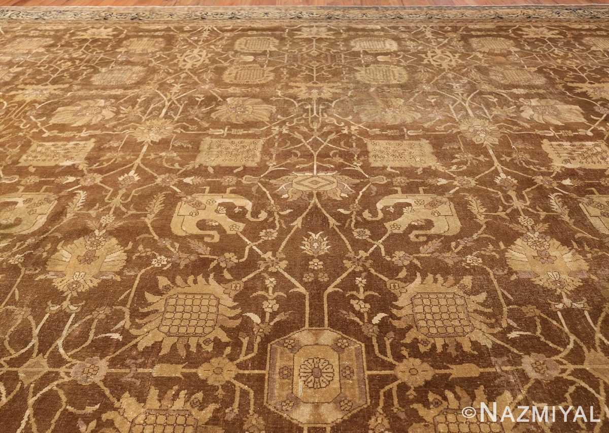 Large Antique Vase Design Indian Amritsar Rug 50341 Top Design Nazmiyal