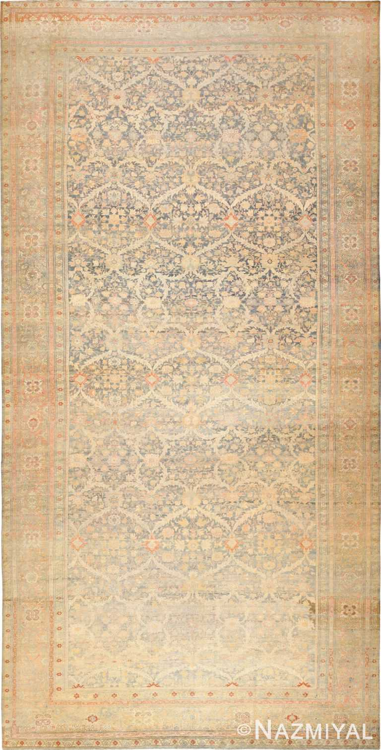 Large Oversized Antique Persian Sulatanabad Rug 49076 Nazmiyal