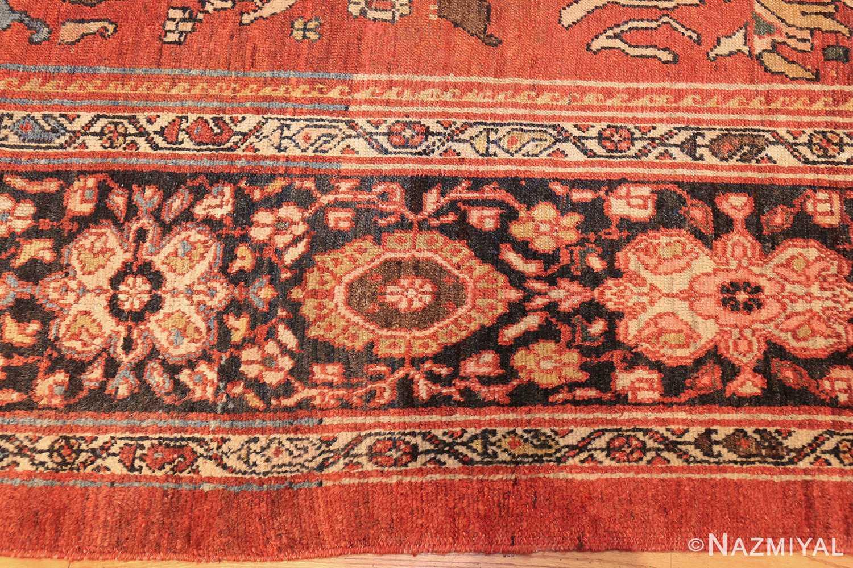 oversize antique persian sultanabad rug 50653 border Nazmiyal