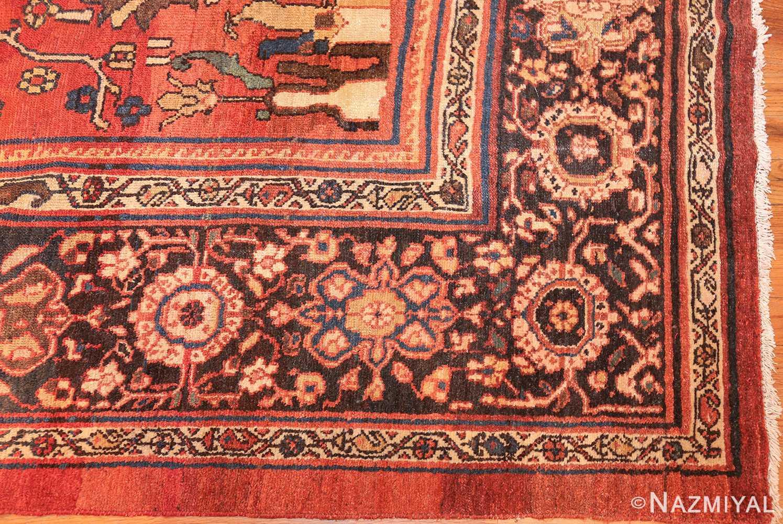 oversize antique persian sultanabad rug 50653 corner Nazmiyal