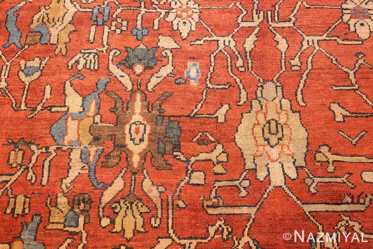 oversize antique persian sultanabad rug 50653 design Nazmiyal