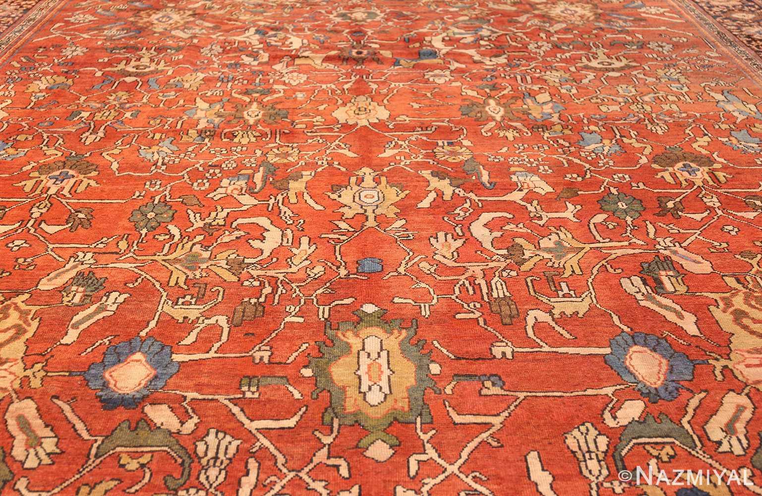 oversize antique persian sultanabad rug 50653 full Nazmiyal