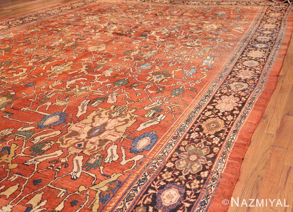 oversize antique persian sultanabad rug 50653 side Nazmiyal