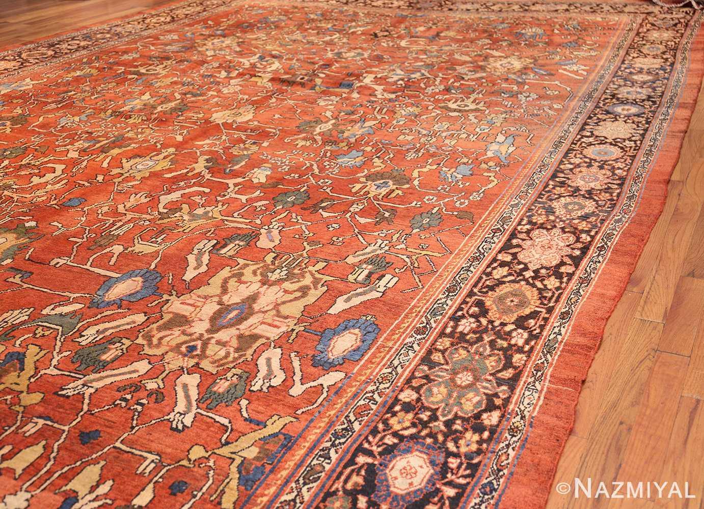 oversize antique persian sultanabad rug 50653 side Nazmiyal