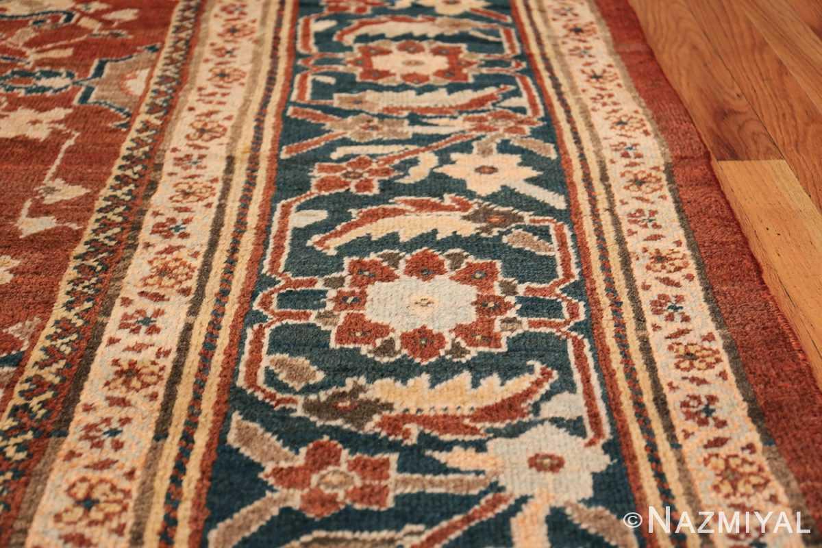 Oversized Antique Persian Sultanabad Rug 49142 Border Design Nazmiyal