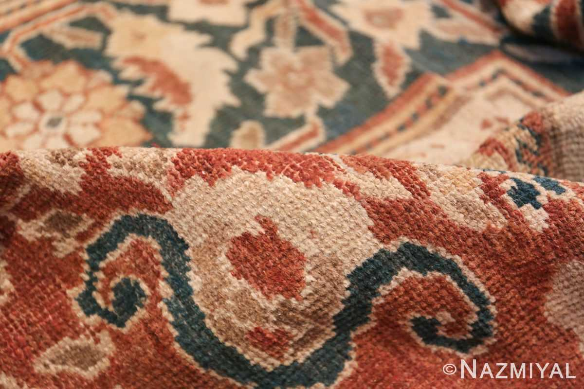 Oversized Antique Persian Sultanabad Rug 49142 Floral Pile Nazmiyal