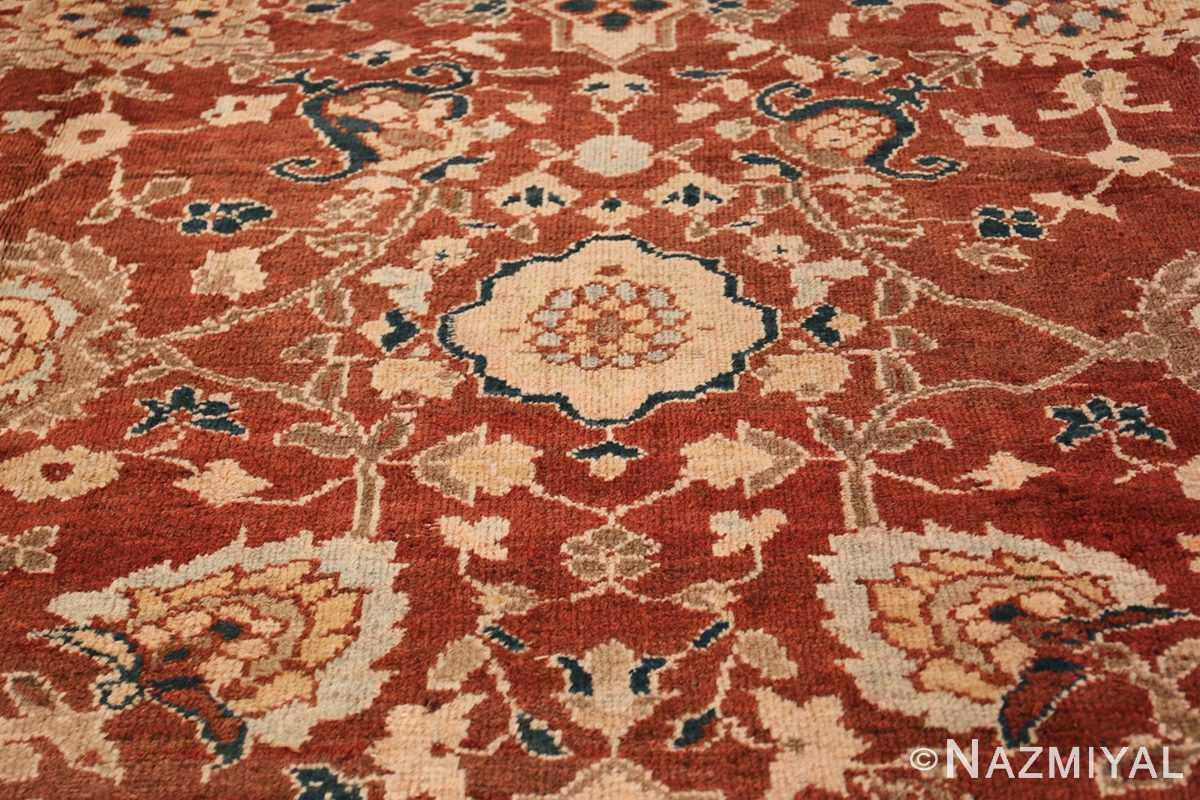 Oversized Antique Persian Sultanabad Rug 49142 Main Pattern Nazmiyal