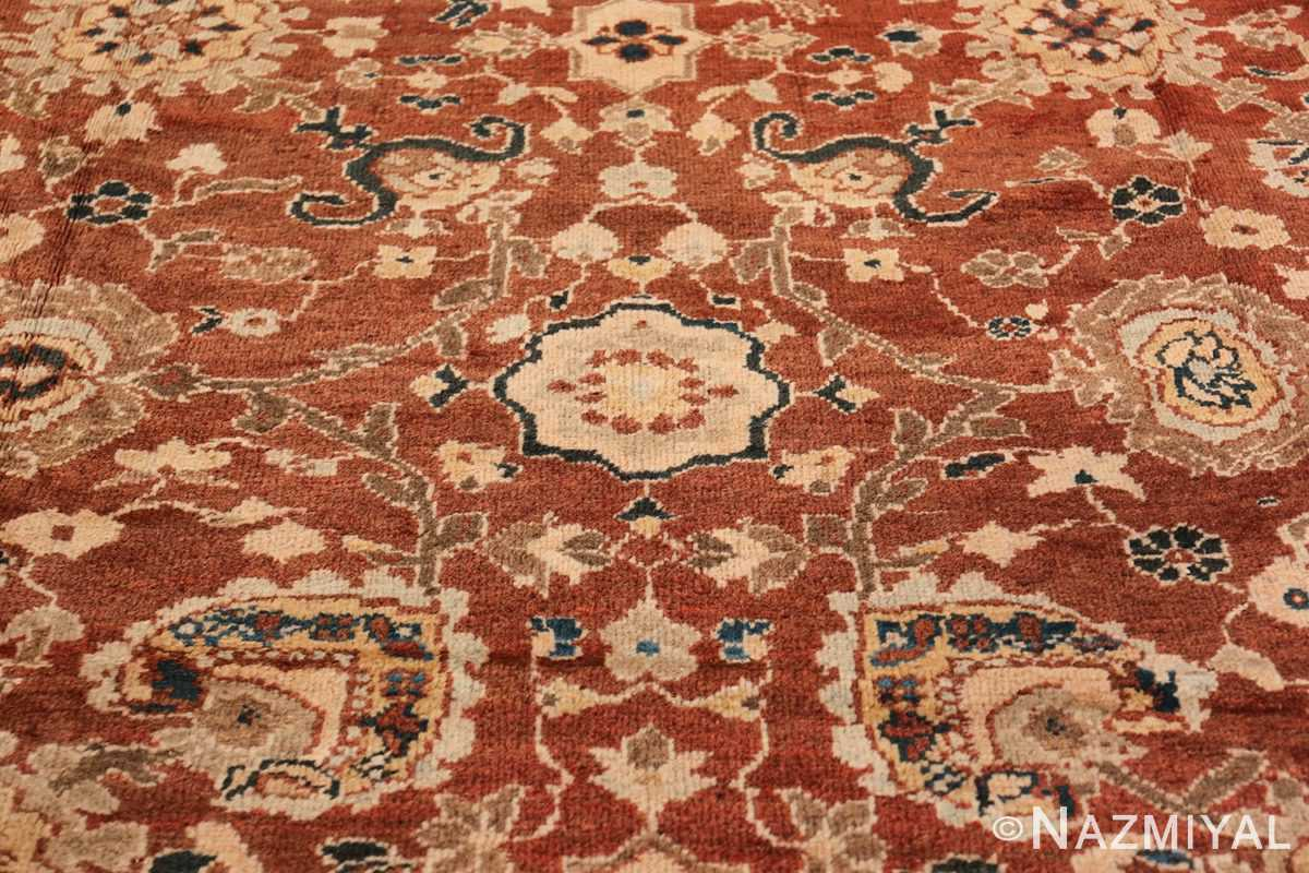 Oversized Antique Persian Sultanabad Rug 49142 Middle Part Nazmiyal