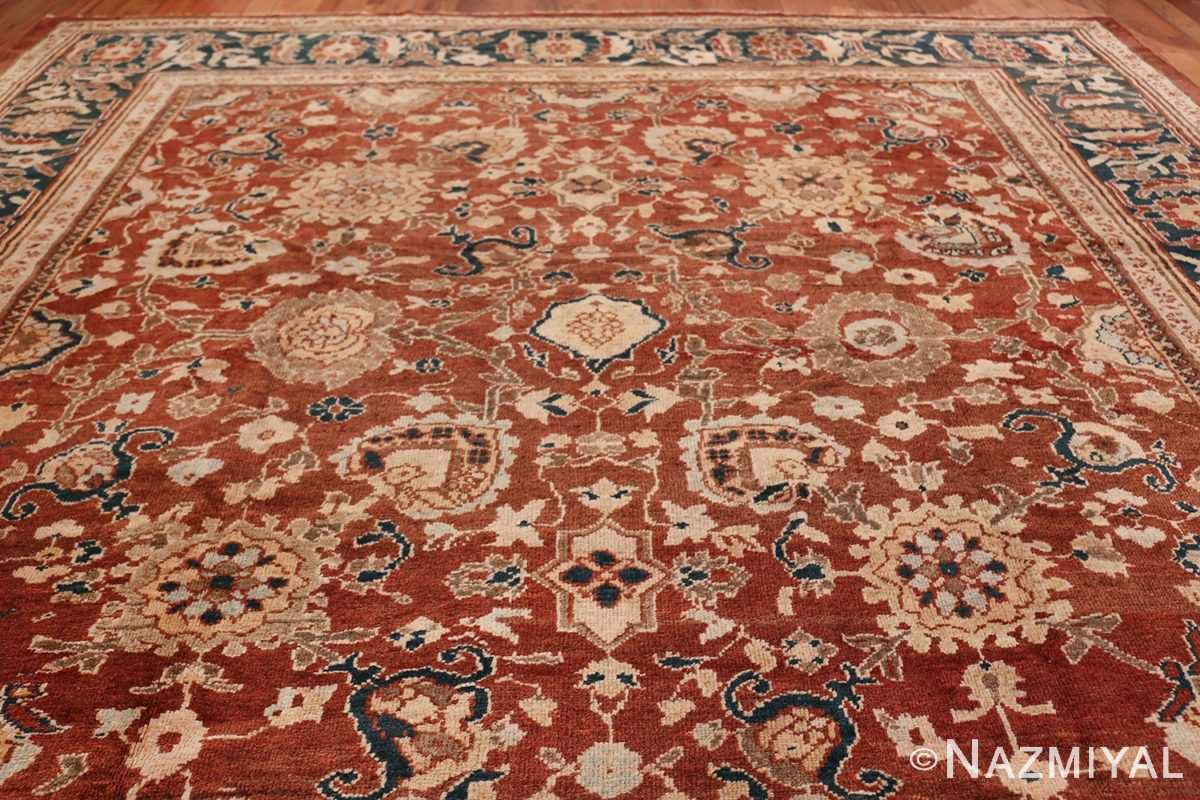 Oversized Antique Persian Sultanabad Rug 49142 Top Design Nazmiyal