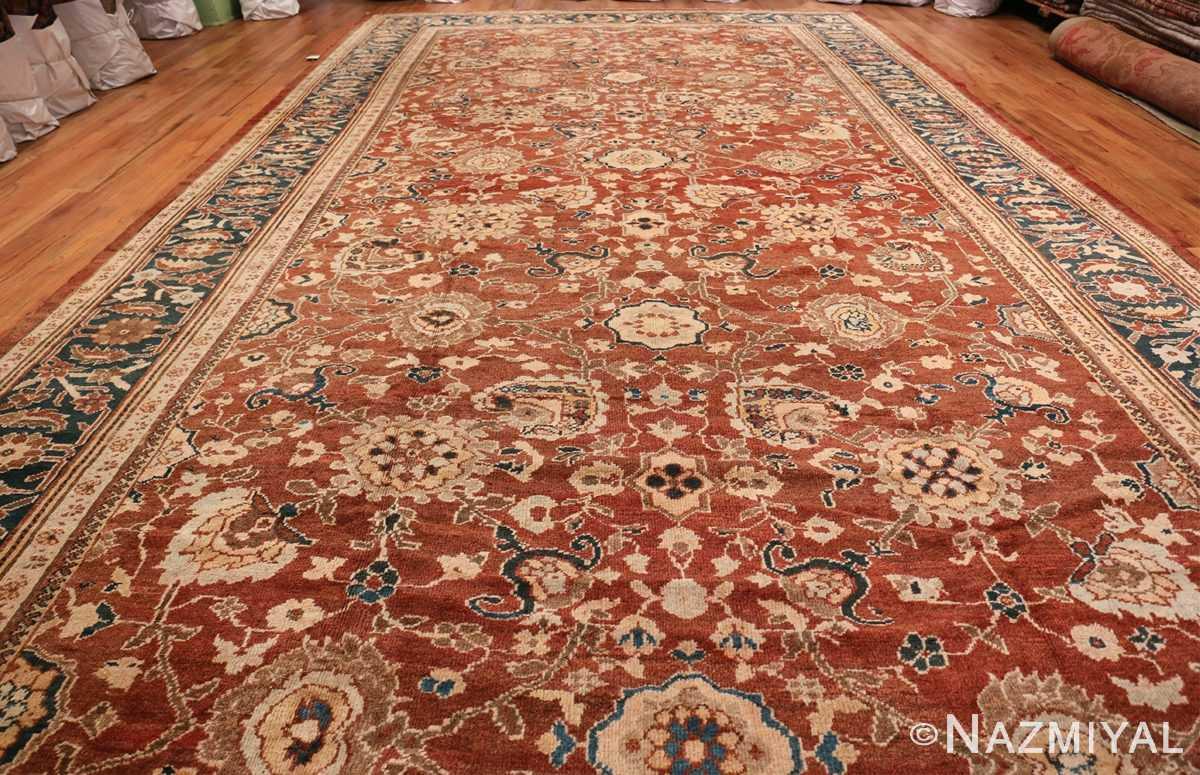 Oversized Antique Persian Sultanabad Rug 49142 Whole Design Nazmiyal