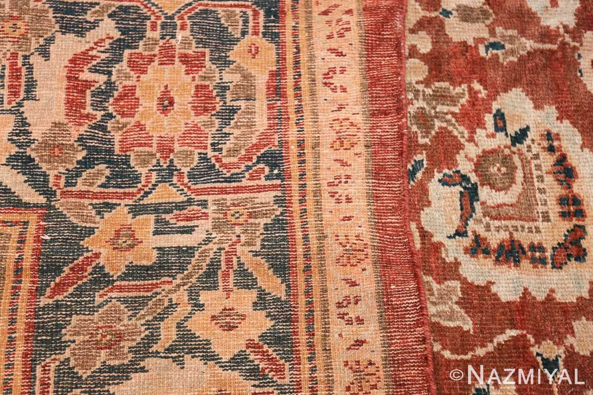 Oversized Antique Persian Sultanabad Rug 49142 Woven Knots Nazmiyal