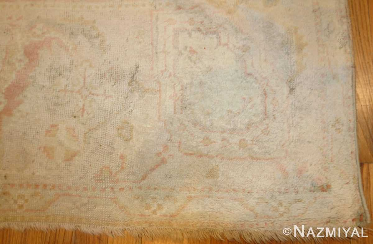 oversized antique turkish oushak rug 49166 border Nazmiyal