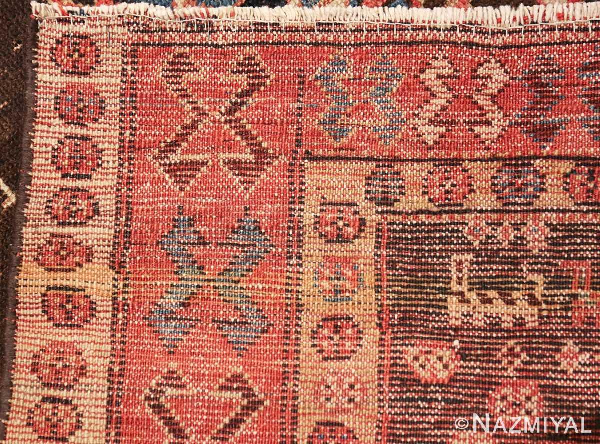 shabby chic antique persian kurdish rug 49150 weave Nazmiyal