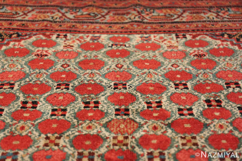 Tribal Antique Persian Serab Rug 49160 Closeup Top Nazmiyal