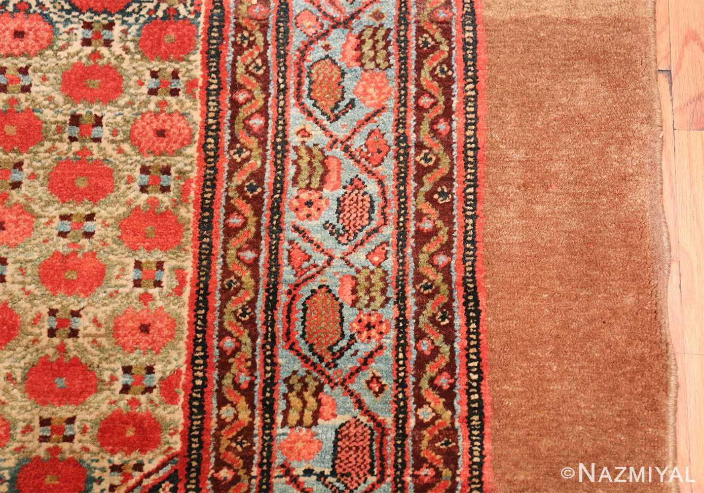 Tribal Antique Persian Serab Rug 49160 Design Border Nazmiyal