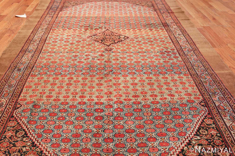 Tribal Antique Persian Serab Rug 49160 Field Design Nazmiyal