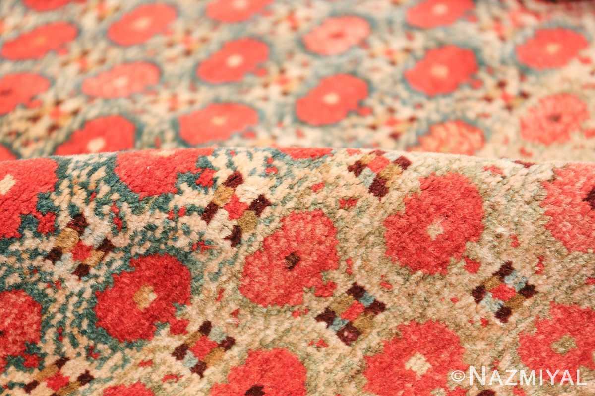 Tribal Antique Persian Serab Rug 49160 Pomegranate Pile Nazmiyal