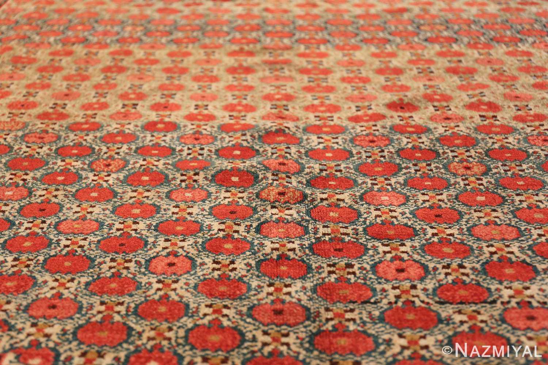 Tribal Antique Persian Serab Rug 49160 Rows of Pomegranates Nazmiyal