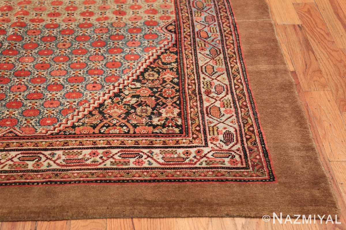 Tribal Antique Persian Serab Rug 49160 Side Corner Nazmiyal